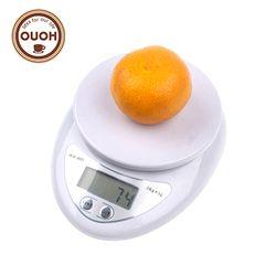 5000g/1G 5 kg LED Escala electrónica dieta Cocina Digital escala Postal escalas herramientas de cocina escalas, balanza electrónica