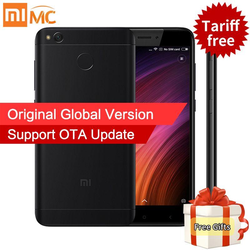 Global Version Original Xiaomi Redmi 4X 3GB 32GB Smartphone Snapdragon 435 Octa Core 5.0