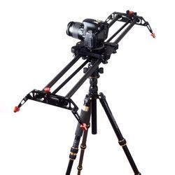 DIGITALFOTO Travel Portable 80cm carbon fiber camera slider 120 Degree Rotated angle adjust DSLR video slider dolly track rail
