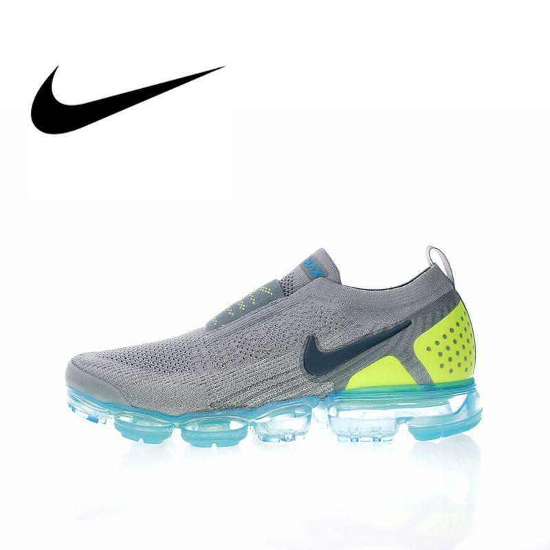 Original Authentic NIKE AIR VAPORMAX FK MOC 2 Mens Running Shoes Sneakers Sport Outdoor Designer Footwear 2019 New Arrival