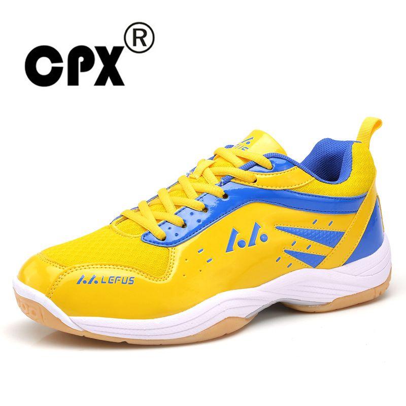 CPX Professional Women men unsex Badminton shoes Lefusi Couples Badminton Sneaker Indoor and outdoor Sport Tennis athletic Shoes