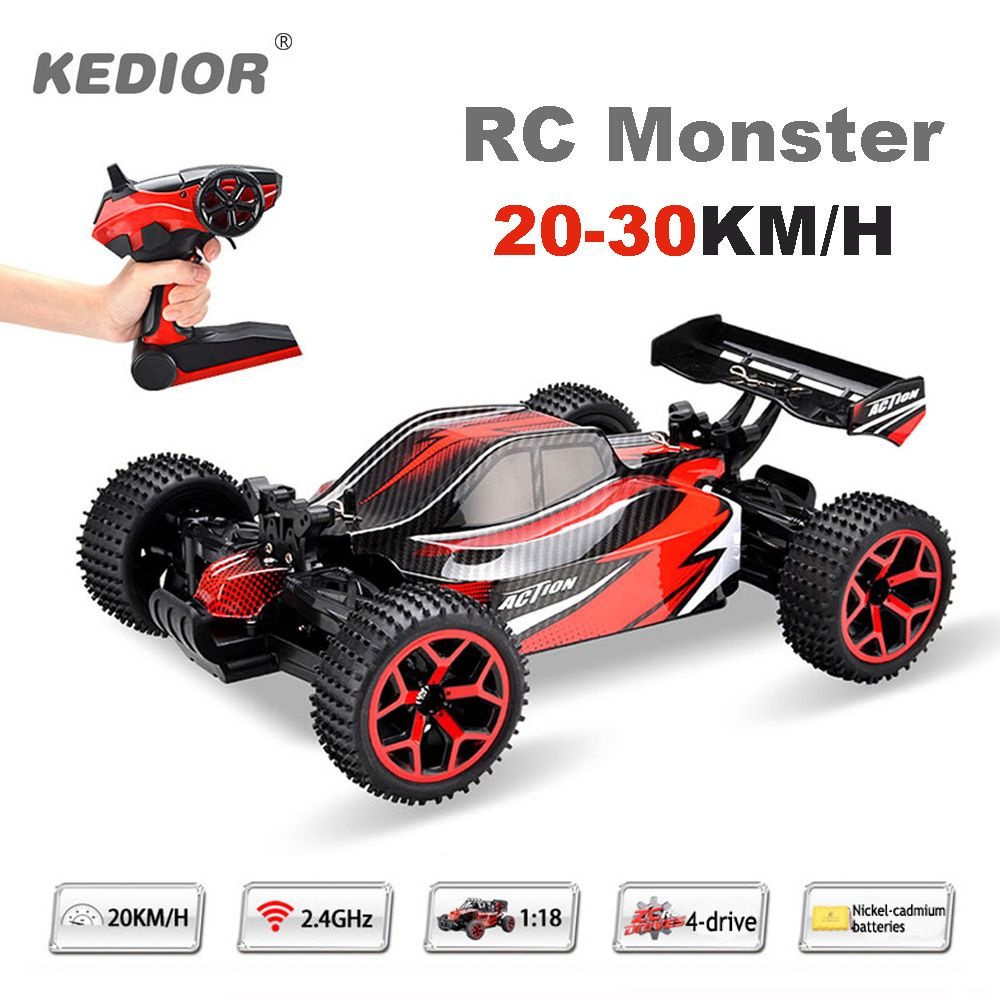 1:18 Remote Control Car Auto Radio Control 4wd RC Drift High Speed Model Toys with Rechargeable Battery VS WL A959
