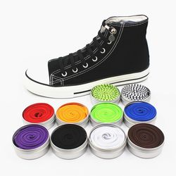 Funny Lazy No Tie ShoeLaces Quick and easy Sneaker elastic Shoelaces men shoes One-handed shoelaces 17 color Available xd149