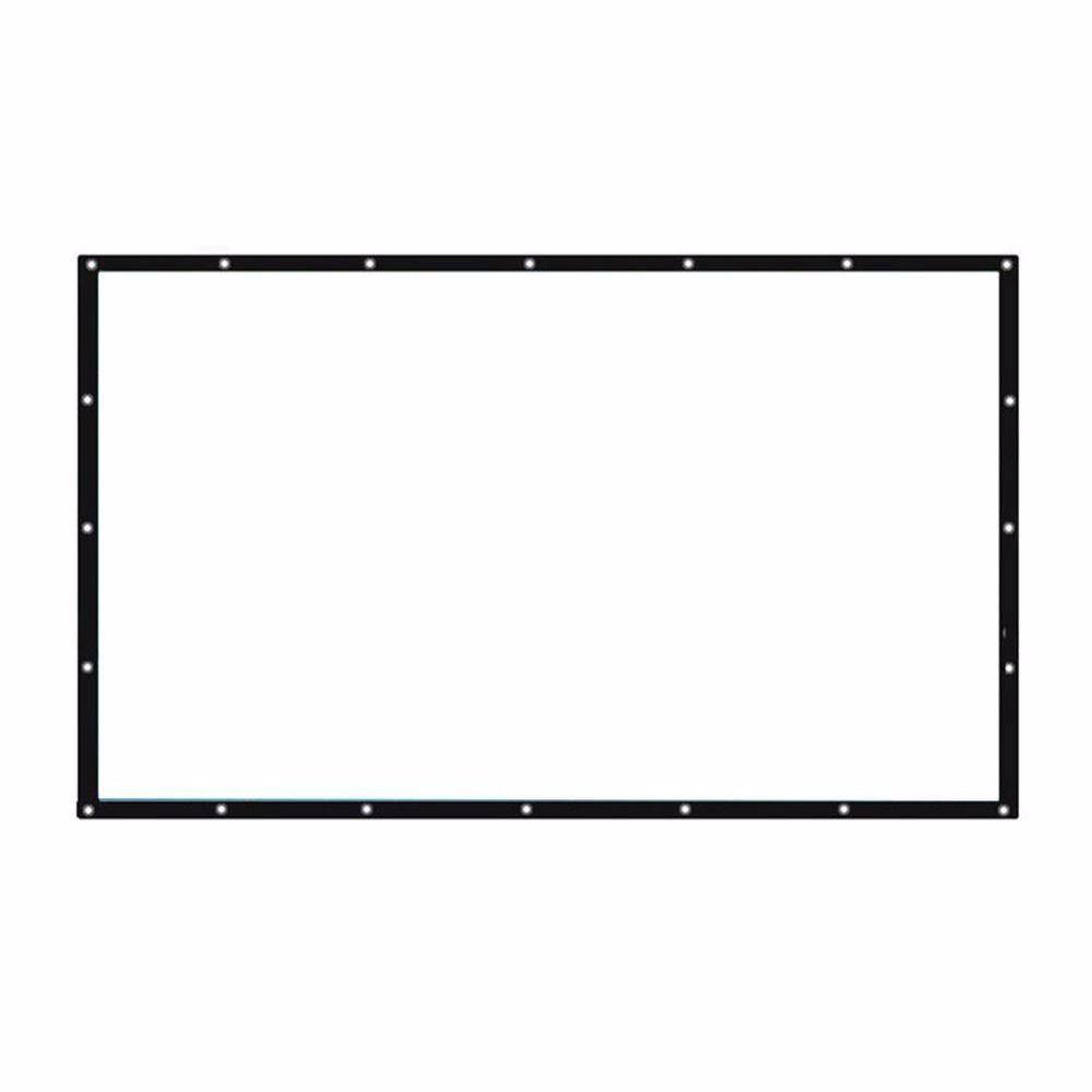 Проектор Экран 16:10 складной Портативный проектор Шторы Совместимость 16:9 4:3 конференции проецирования Экран Прямая доставка