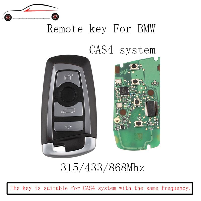 GORBIN 315/433/868Mhz Smart Remote Key Keyless For BMW 3 5 7 Series 2009 2010 2011 2012 2013 2014 2015 2016 CAS4 CAS4+F System