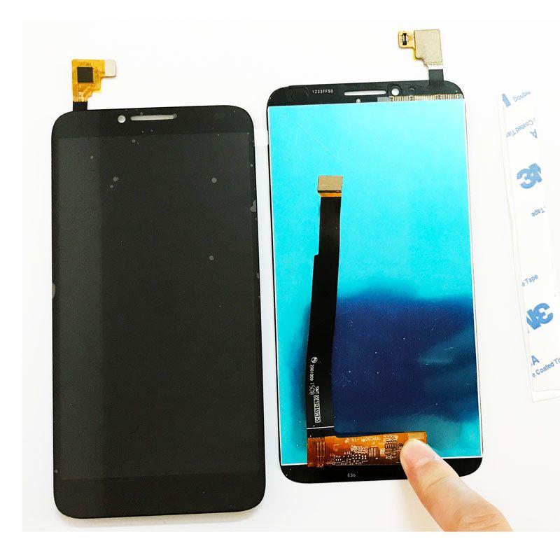 5,0 Zoll Lcd-bildschirm Für Alcatel One Touch Idol 2 6037 6037Y 6037 Karat OT6037 LCD Display Touchscreen Digitizer ersatz