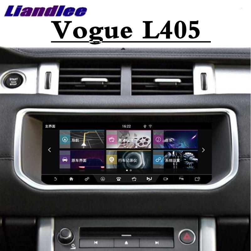 Für Land Rover Für Range Rover Vogue L405 2012 ~ 2019 Liandlee Auto Multimedia Player NAVI CarPlay Radio Bildschirm GPS navigation