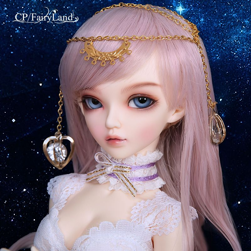 Free Shipping Fairyland Minifee Chloe Celine Mio Mika FL BJD Dolls 1/4 Sweet Fashion Fairy Nude Toys For Girls Birthday Gifts