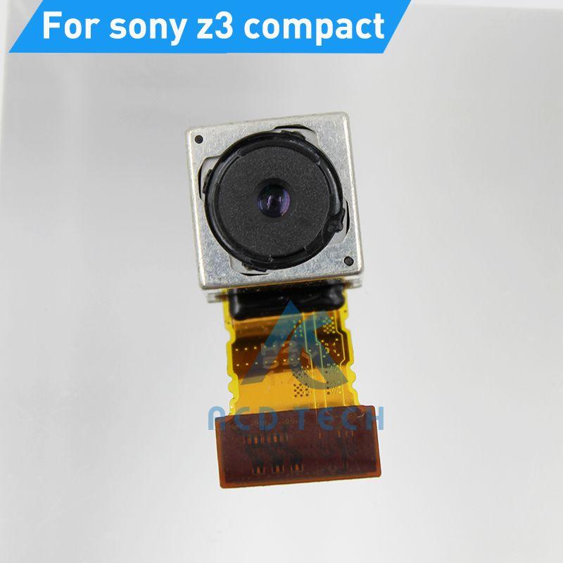 Caméra Principale Arrière d'origine Pour Sony z3 compact m55w Big Caméra Câble Flex Retour Caméra Pièces De Rechange Refubishment