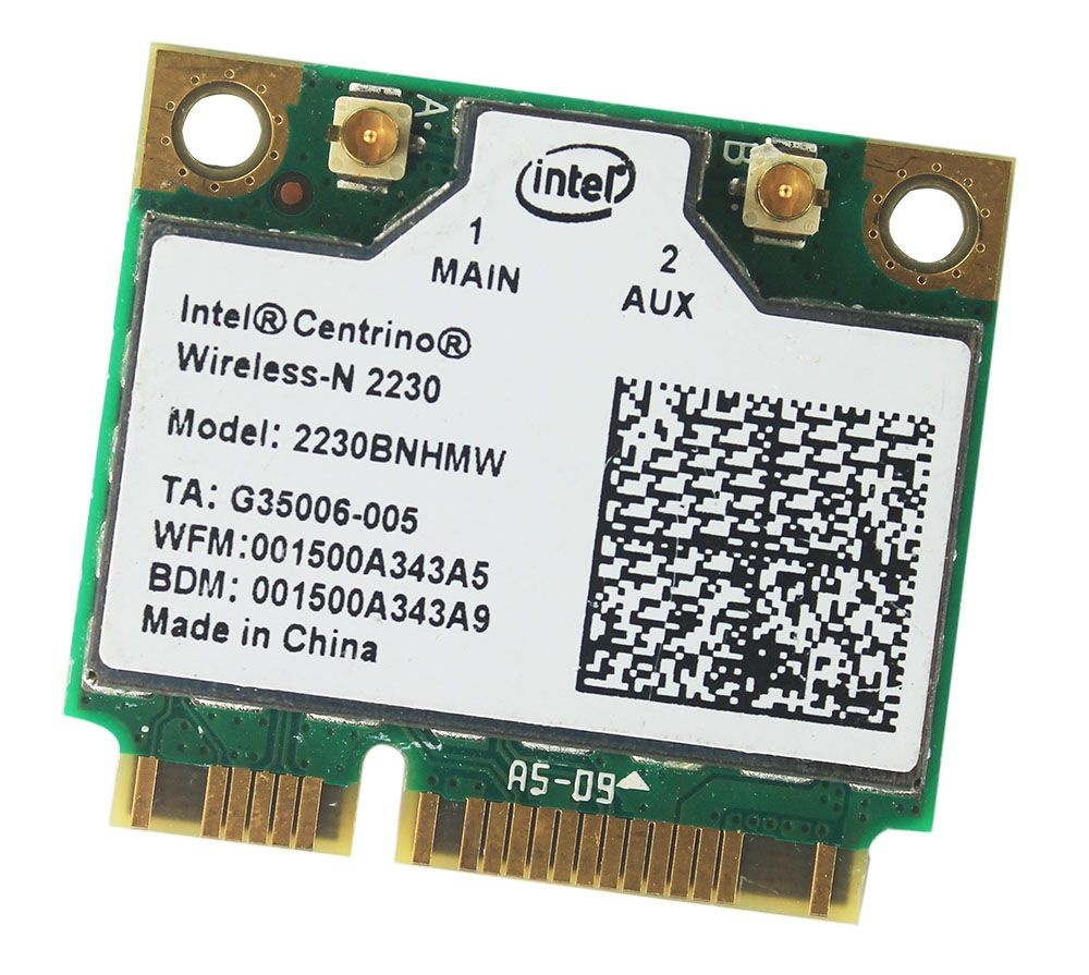 Intel Centrino wireless-n 2230 Bluetooth 4.0 WIFI 300 Mbps 2230 BNHMW adaptateur demi mini PCIe