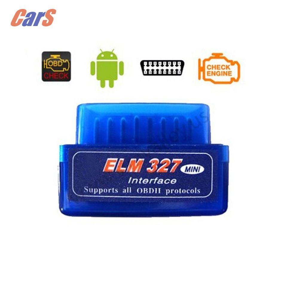 Mini ELM327 V2.2 OBD2 II Bluetooth Car Auto Diagnostic Scanner Tool Mini OBD II  ELM327 V2.2 Wireless OBD2 Scanner