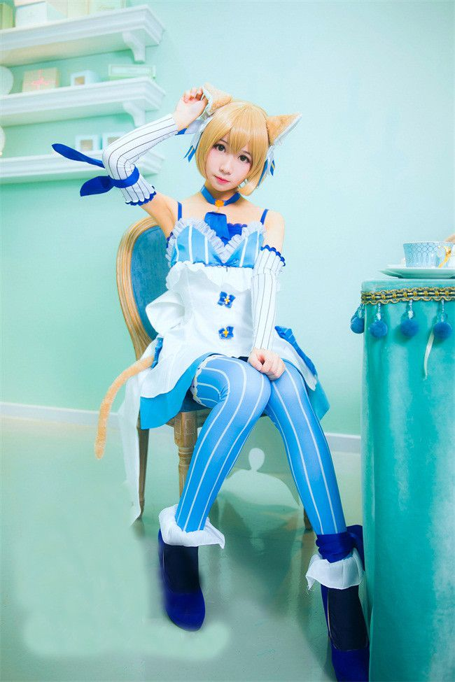 Anime Re Zero Re:Life in a Different World from Zero Felix Argyle womens&mens COS cosplay costume include ears and tail full set