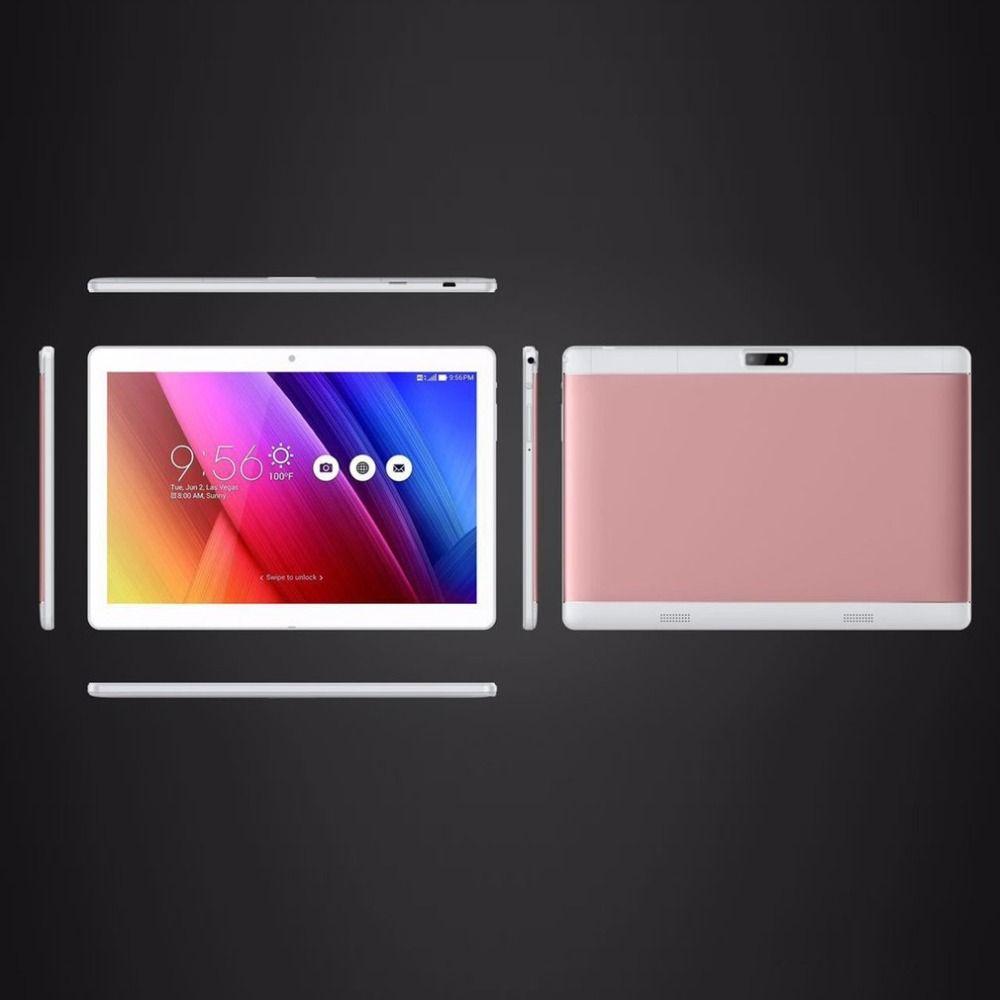 Neue 10,1 inch tabletten 4 GB RAM + 64 GB ROM unterstützung play store OTG Dual kamera Karte Android 6.0 tablet verlängern tf-karte zu 64 GB