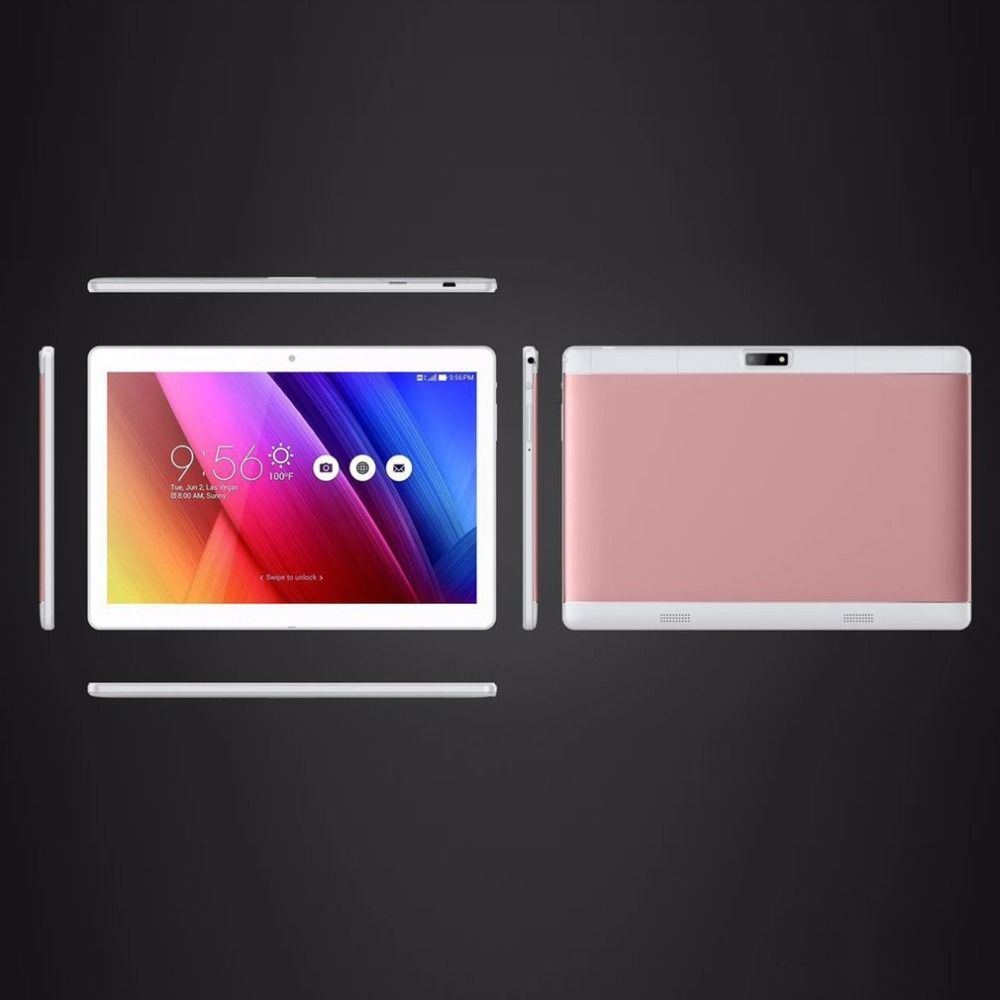 New 10.1 inch tablets 4GB RAM+64GB ROM support play store OTG Dual camera Card Android 6.0 tablet extend TF card to 64GB
