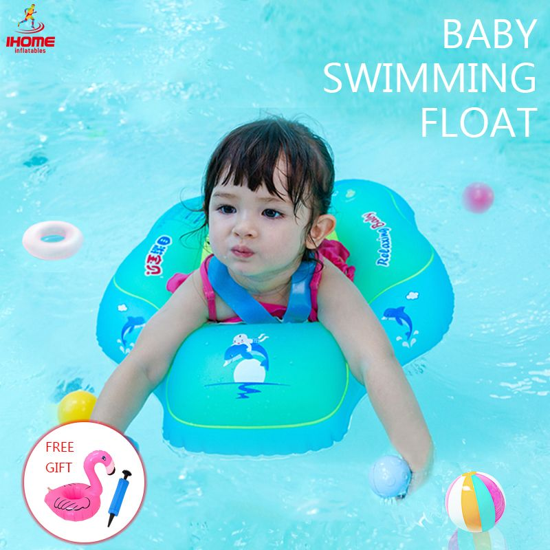 Relaxing Baby Swimming Ring Inflatable Infant Armpit Floating Kids Swim Pool Accessories Circle Bathing Inflatable Rings Toy