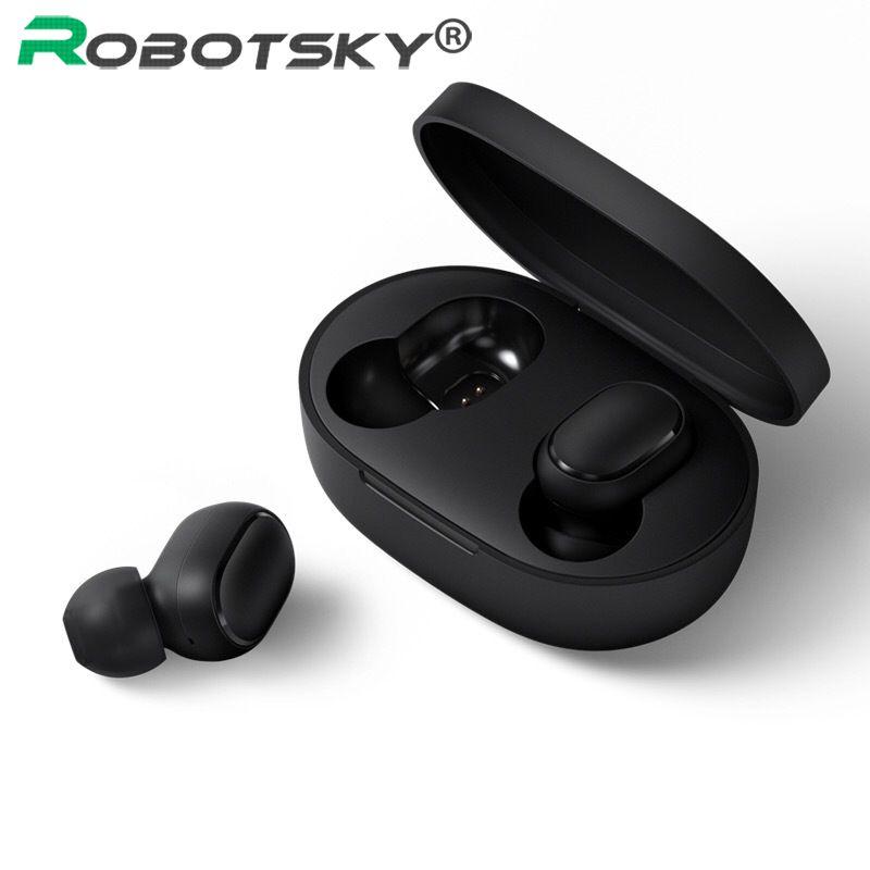 A6S écouteurs sans fil pour Airdots écouteurs Bluetooth 5.0 TWS casques anti-bruit micro pour iPhone Huawei Samsung Xiaomi Redmi