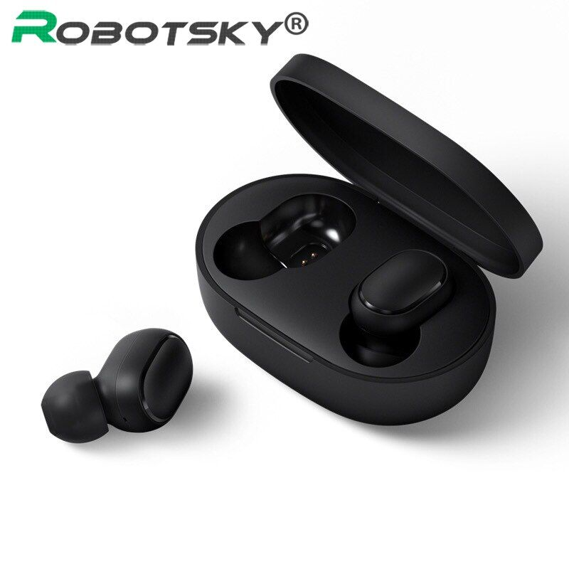 A6S Wireless Earphone For Airdots Earbuds Bluetooth 5.0 TWS Headsets Noise Cancelling Mic For iPhone Huawei Samsung Xiaomi Redmi