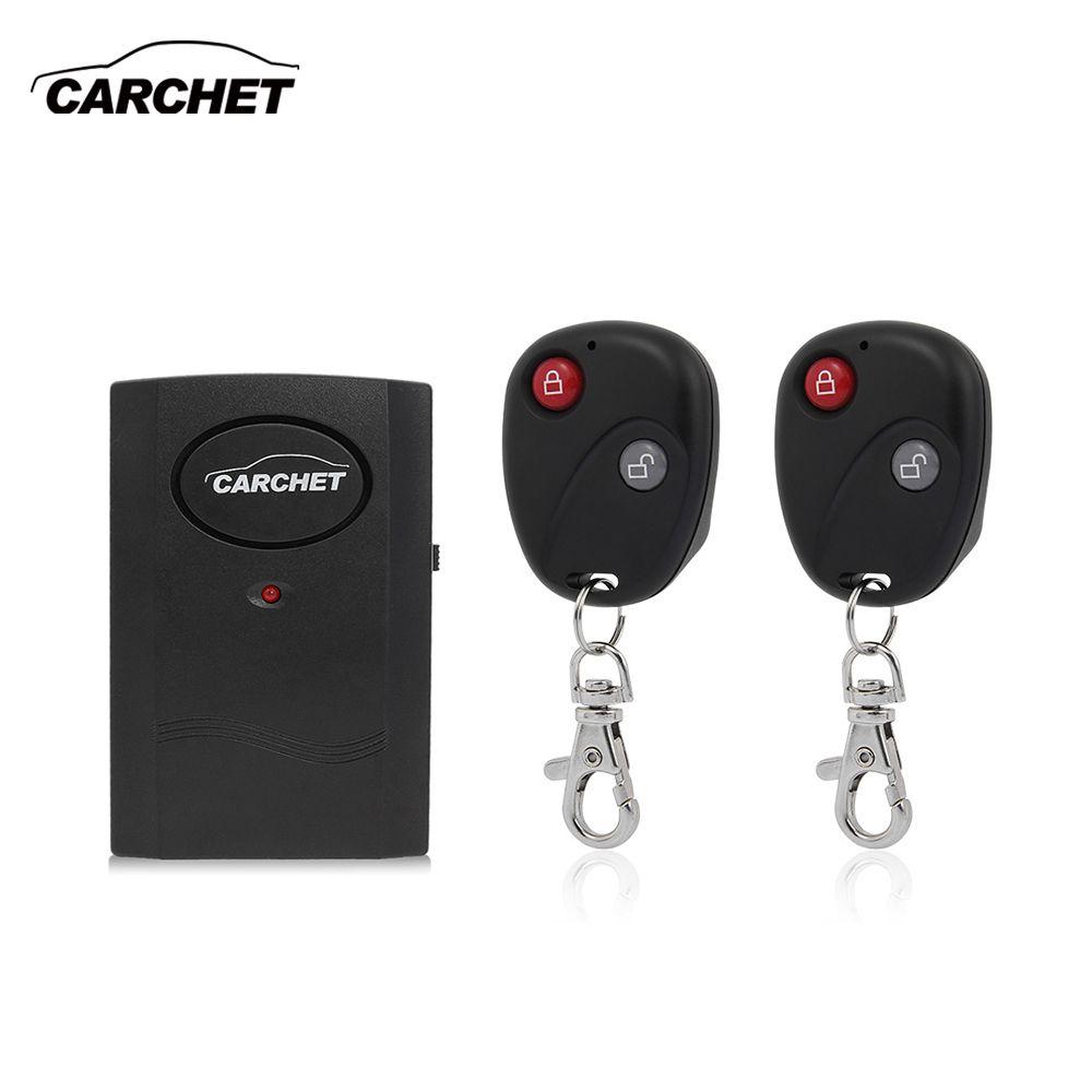 CARCHET Universal Motorrad Bike Wecker Wireless System Sensor Alarm Detector Schloss 2 Fernbedienung Diebstahl Schutz 120db