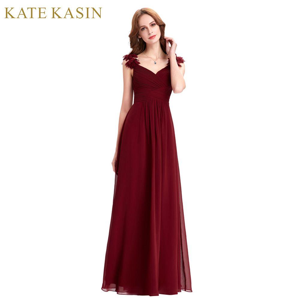 Real Photo Floor Length Long Evening Dresses Kleider Lang Elegant Party Dress Formal Gown Red Burgundy Evening Dress ST79