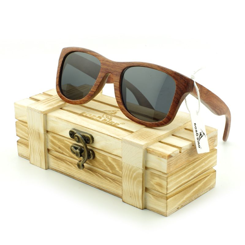 BOBO BIRD Personal Tailor Designer Brand Sunglasses Men's Zebra Stripe Fashion Summer Eyewear 100% Handmade Wood Sunglasses