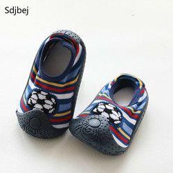 Suelas de goma niños y niñas recién nacido calcetines del bebé impermeable antideslizante fuera de zapatos niños calcetines
