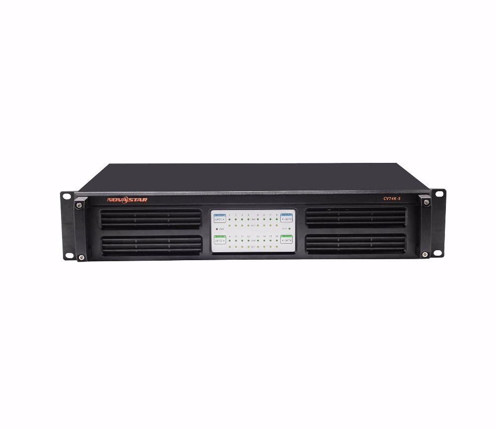 Novastar Faser-konverter CVT4K-S Unterstützt 16-kanal Neutrik Ethernet und ausgänge 4-kanal glasfaser/ausgänge