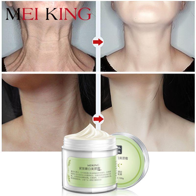 MEIKING Neck Cream Skin <font><b>Care</b></font> Anti wrinkle Whitening Moisturizing Firming Neck <font><b>Care</b></font> 100g Skincare Health Neck Cream For Women