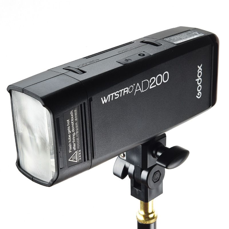 GODOX AD200 TTL 2.4G 1/8000s HSS Pocket Flash Light Double Head 200Ws with 2900mAh Lithium Battery with 2.4G wireless X system