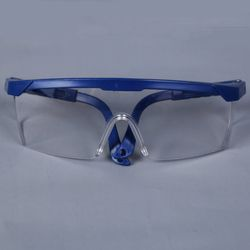 Dropshipping Protective Goggles Safety Glasses Welding Glasses Green Eye Wear Adjustable Work Lightproof Glasses