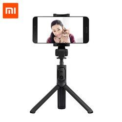 Original Xiaomi Portátil Mini Trípode Plegable 2 en 1 Autofoto Monopie Stick Bluetooth Inalámbrico Disparador Remoto para Android y Iphone