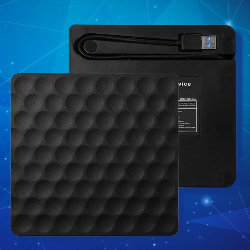 Ulra schlanke USB 3.0 Externen CD Dvd-rw-laufwerk Rom Rewriter Brenner Writer 5 Gbps Ladedatum Transfer 14,8x14,2x1,8 cm für Laptop Desktops