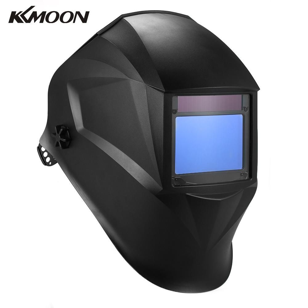 Solar Power Welding Helmet Auto Darkening Filter TIG MIG welding mask with 4 Optical Sensors electronics production machinery