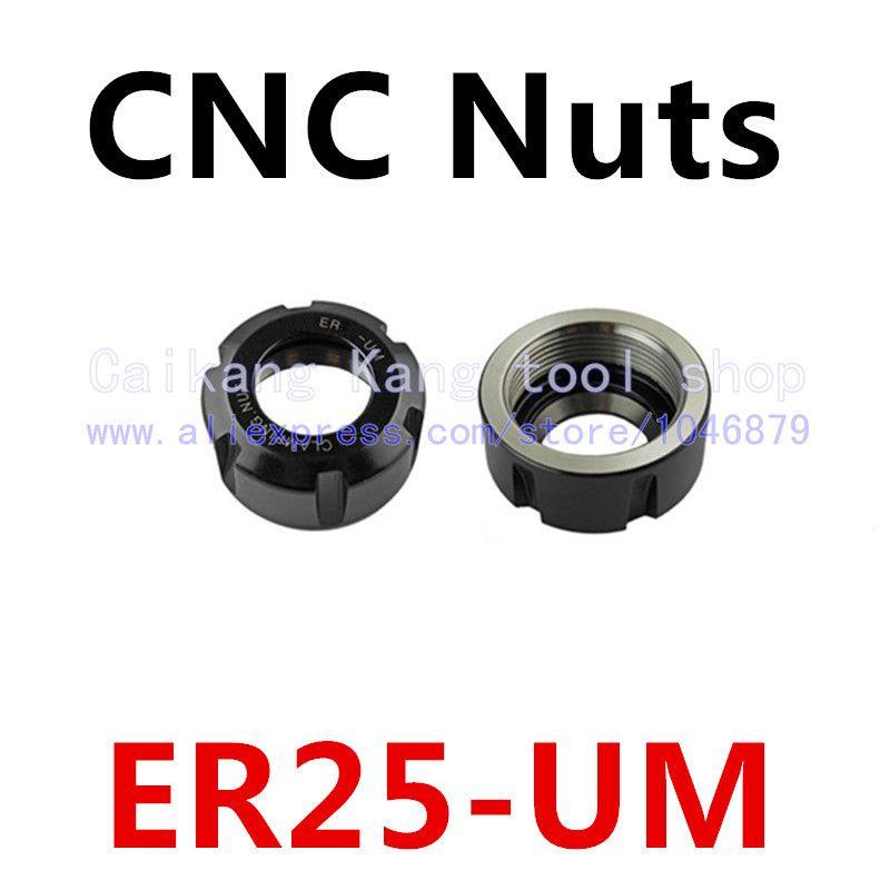 ER25-UM. Nut. CNC nut. ER nut. UM type nut. CNC Accessories.ER25-UM