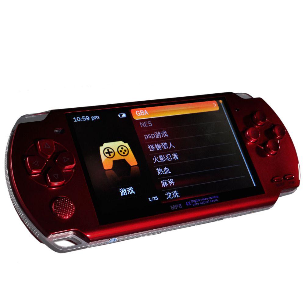 Neue MP4 MP5 Tragbare Multimedia-Player Mit Digital Video Kamera Auto Optische Zoom und TF Karte Slot (TF Karte NICHT Enthalten)