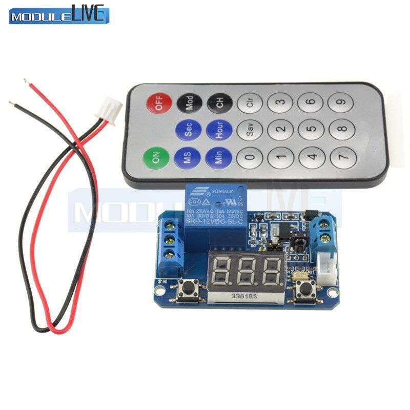 Infrarot fernbedienung 12 v timer verzögerung relais LED rohr display modul für Arduino