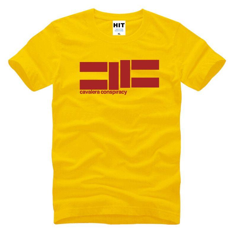 CAVALERA complot Heavy Metal Rock musique hommes T Shirt t-shirt 2016 nouveau O cou coton T-Shirt style décontracté Tee-Shirt Camisetas Hombre