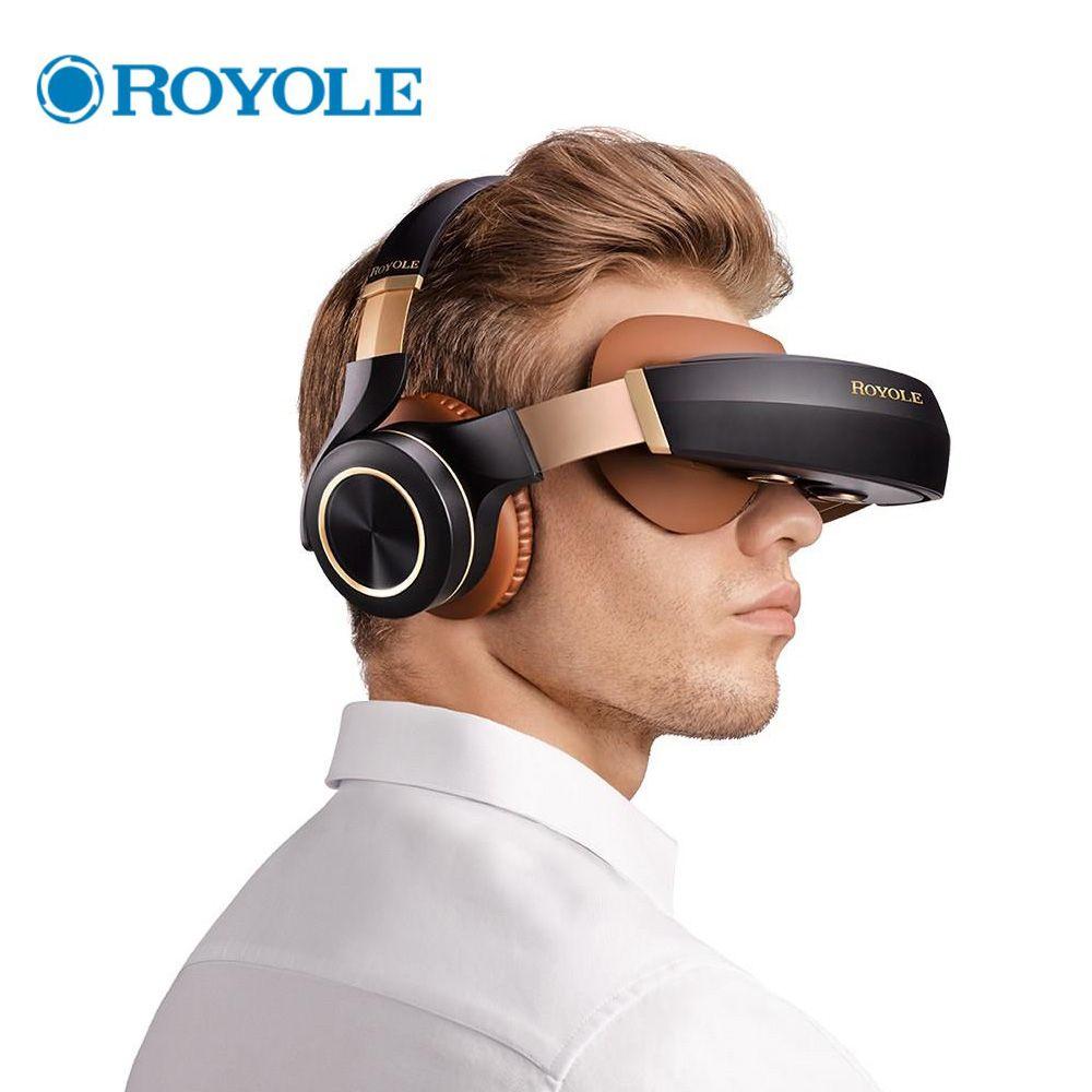 Royole Mond Alle in Einem 2 gb/32 gb 3D VR Headset HIFI Kopfhörer Immersive Virtuelle Realität Gläser 3D virtuellen Mobilen Theater Gläser