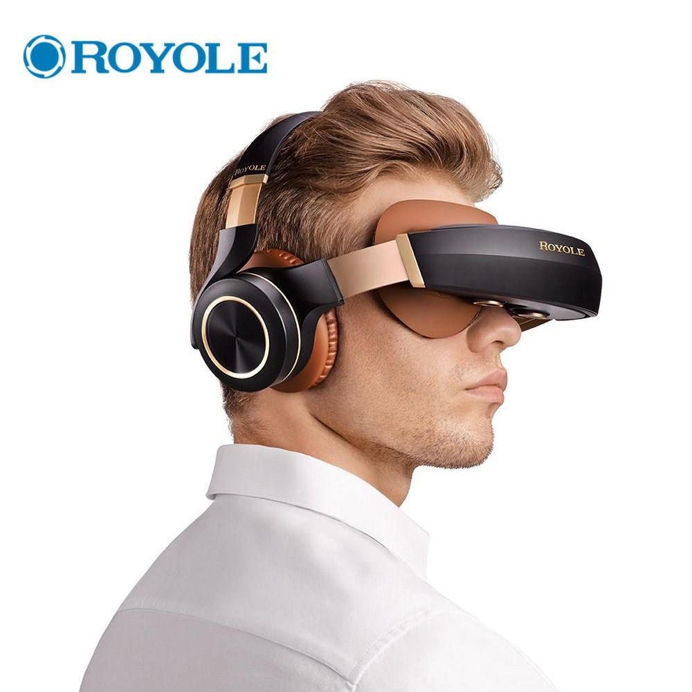 Royole Moon All in One 2GB/32GB 3D VR Headset HIFI Headphone Immersive Virtual Reality Glasses 3D Virtual Mobile Theater Glasses