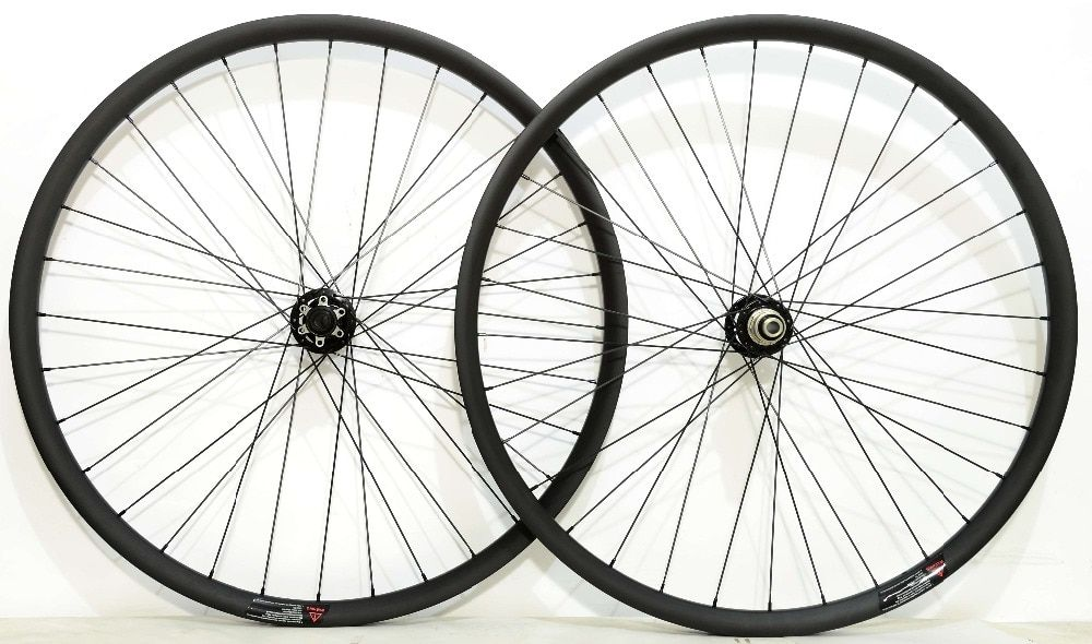 27.5ER 2.6mm off set asymmetric 30*24 MTB XC Hookless Carbon Wheels super light Mountain bike tubuless ready carbon wheelset