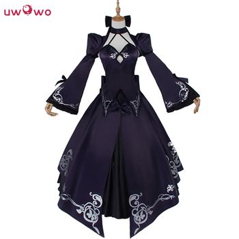 UWOWO Alter Saber Cosplay Fate Stay Night Costume Anime UBW Arturia Saber Women Cosplay Zero Fate Stay Night Costume Women