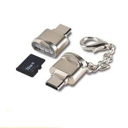 USPS New Arrival  Mini Type C Micro SD TF Memory Card Reader OTG Adapter USB 3.1 Portable Hot Sell Drop Shipping