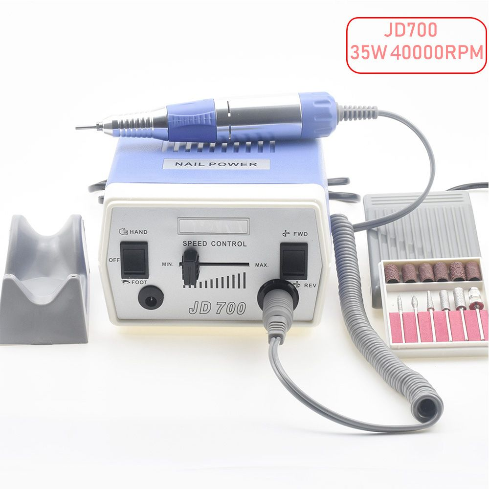 35W 40000RPM Electric Nail Drill Machine Manicure Pedicure Files Tools Kit Nail Polisher Grinding Glazing Machine For Gel Polish
