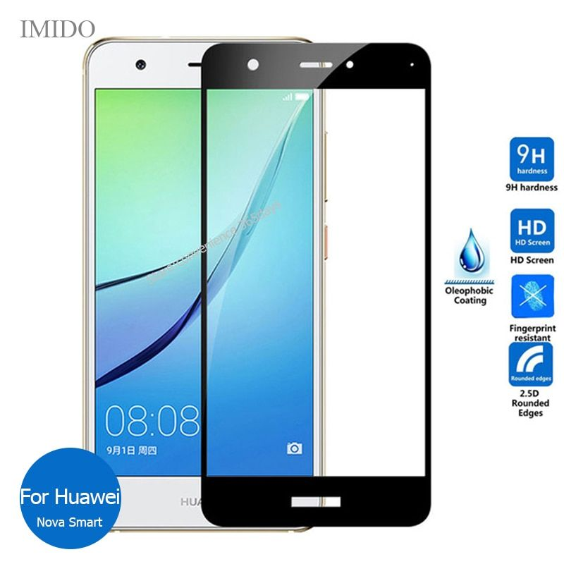 For Huawei Nova FuLL cover Tempered Glass Screen Protector 2.5 9h Safety Protective Film ON Can-L12 Can-L13 Can L11 L12 L13 L01