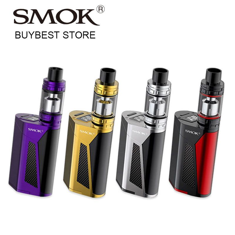 Original 350W SMOK GX350 Starter Kit with TFV8 Cloud Beast Tank 6ml Atomizer & 350W TC Box MOD G350 Huge Power e-Cig Vaping Kit