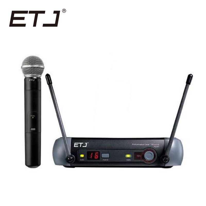 Free shipping Top quality For ETJ PGX24 SM 58 BETA 58 58A type Wireless system Karaoke Professional Microphone Stage KTV DJ