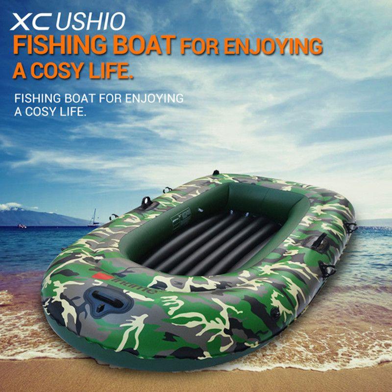 Qualität 2/3/4 Person Aufblasbare Ruderboot Lager 175/250/320KG Cabrio Motorboot Sicherheit rettungs Gummi Fischerboot Set