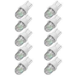10 шт. DC12V белый T10 W5W супер яркий водить автомобиль клин светлая сторона номерной знак лампы накаливания автомобиль свет источник