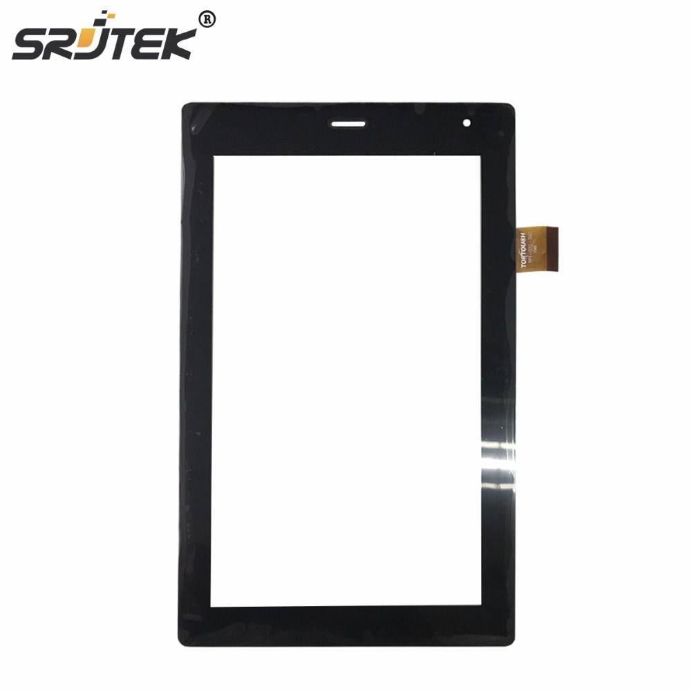 Srjtek touch screen panel digitizer for megafon Login 3 MT4A Login3 MFLogin3T tablet TPC1463 VER5.0 FL FL-070-290 TPT-070-360