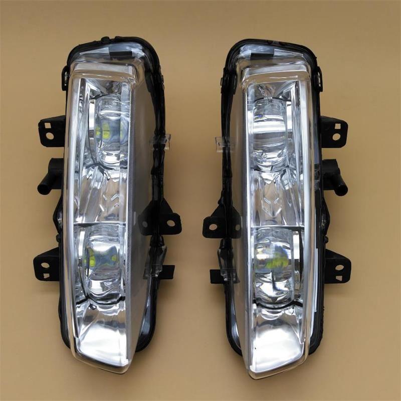 Auto LED Licht Für Land Range Rover Evoque 2012 2013 2014 Auto-styling LED DRL Tagfahrlicht Licht Vorne nebel Licht Montage