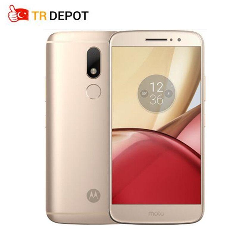 Original Motorola Moto M 4G RAM 32G ROM Octa Core FDD LTE 4G 5.5